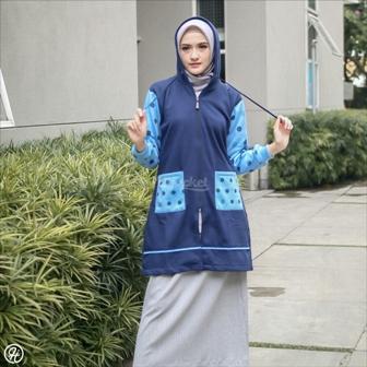 Hijab Jaket Adeeva HJ-ADV-NAVY