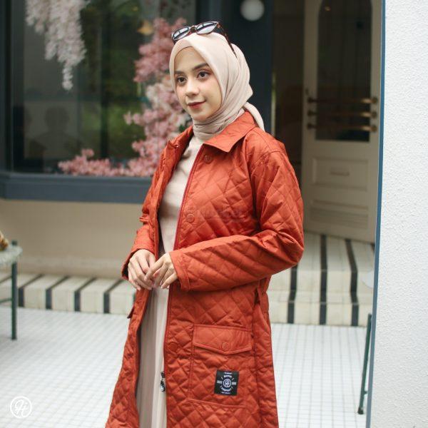 Jaket Hijabers Agnezia HJ-AGZ-TERACOTTA-XXL