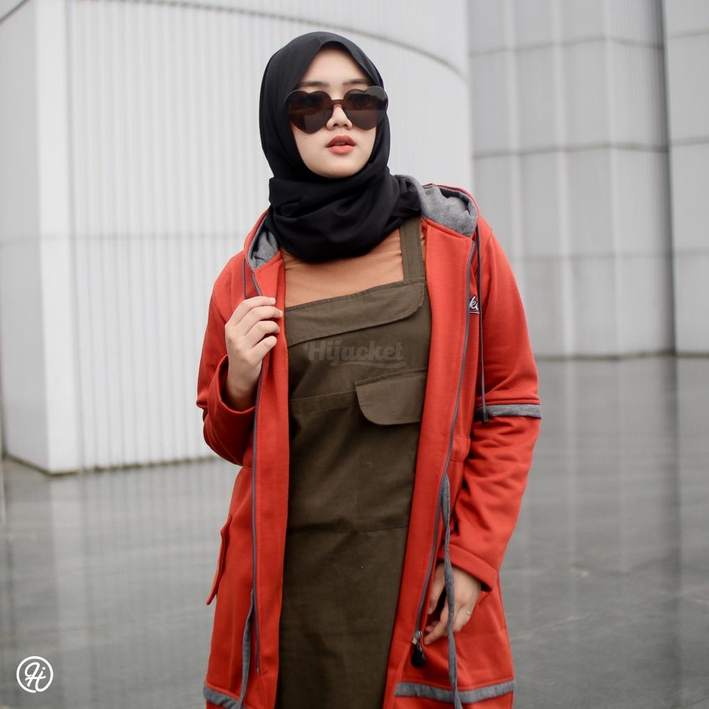 Jaket Hijabers Aurelia HJ-AUR-TERACOTTA-XXL