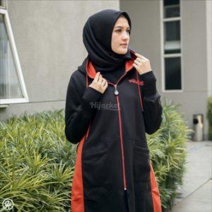 Jaket Hijaber Avia HJ-AVA-BLACK-XL