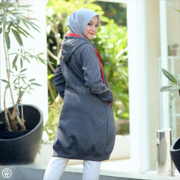 Jaket Untuk Hijaber Basic HJ-6-XL