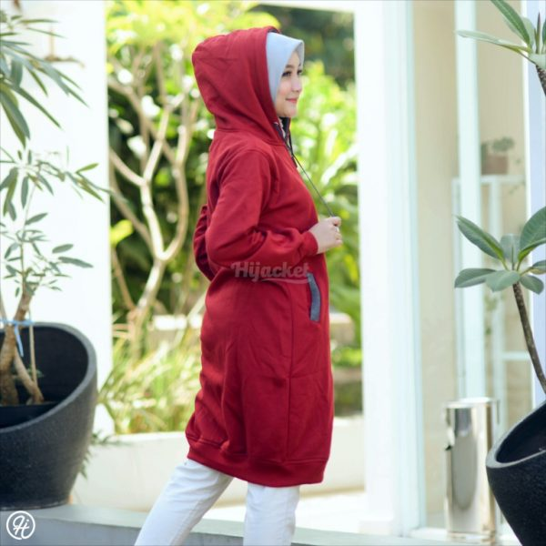Jaket Untuk Hijaber Basic HJ-9-XXL