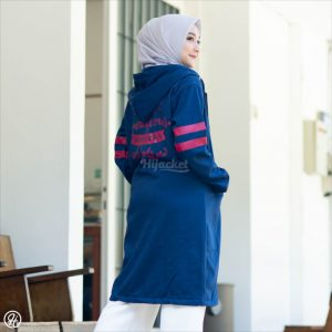 Jaket Hijaber Beautix HJ-BX-ROYAL-BLUE