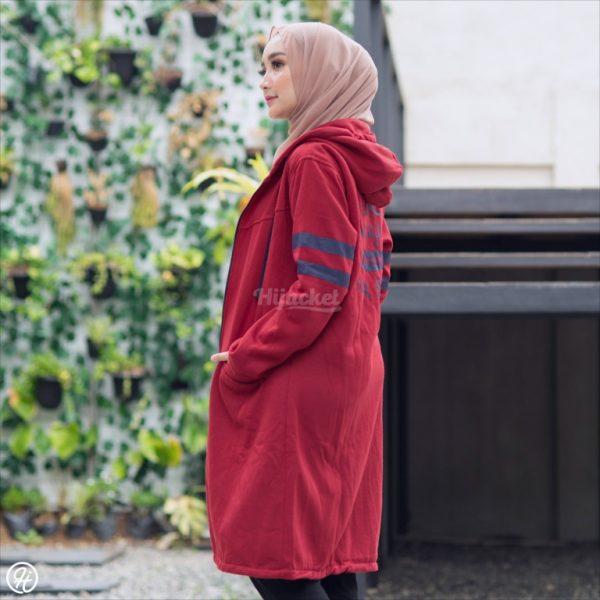 Jaket Hijabers Beautix HJ-BX-RUBY-XXL