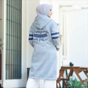 Jaket Hijabers Beautix HJ-BX-SKYGREY