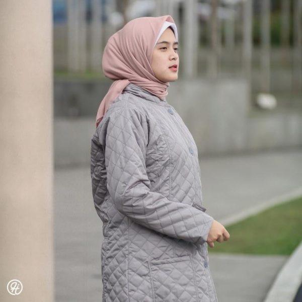 Hijab Jaket Belva HJ-BLV-CLOUDGREY-XL