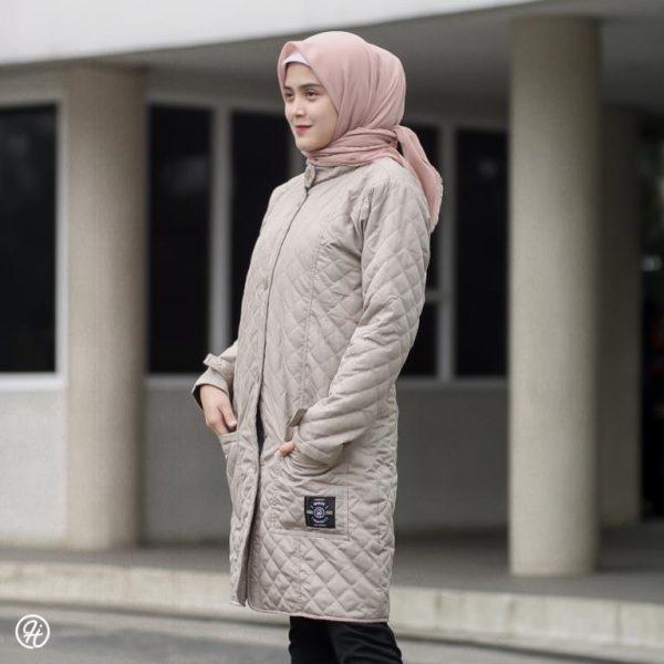 Hijab Jaket Belva HJ-BLV-IVORY-XL