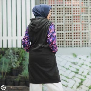 Hijaket Camouflashion HJ-CF-BLACK-PURPLE-XL