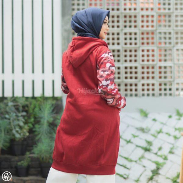 Jaket Untuk Hijaber Camouflashion HJ-CF-RUBY-XL