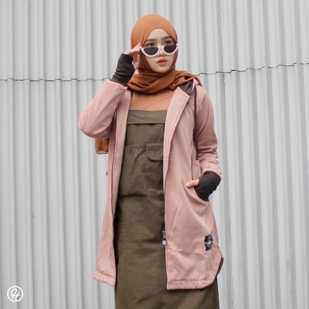 Hijab Jaket Elektra HJ-ELK-BROWN-XXL