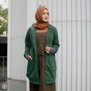 Hijab Jaket Elektra HJ-ELK-GREEN