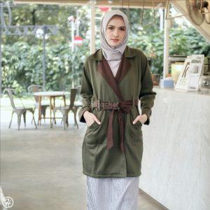 Hijab Jaket Elnara HJ-ELN-MOSSGREEN-XL