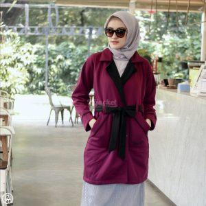 Jaket Hijabers Elnara HJ-ELN-PURPLE-XL