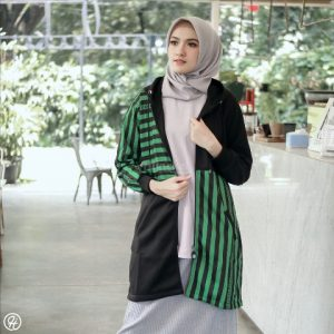 Jaket Hijaber Ghania HJ-GHN-GREEN
