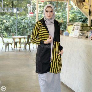 Hijab Jaket Ghania HJ-GHN-YELLOW