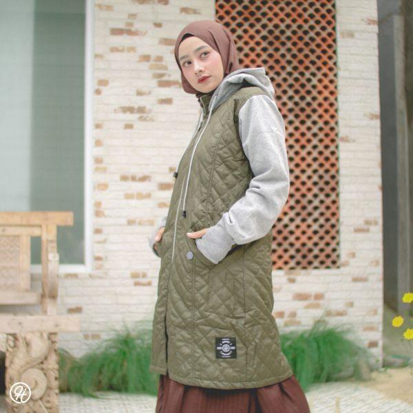 Jaket Hijab Gracieela HJ-GRC-GREEN-XL