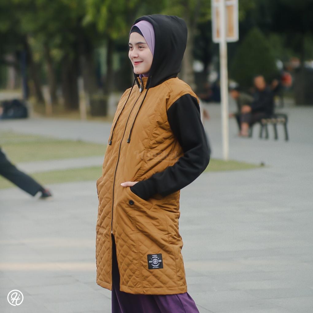 Hijab Jaket Gracieela HJ-GRC-MARIGOLD-XL