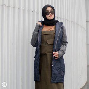 Hijab Jaket Gracieela HJ-GRC-NAVY-XL