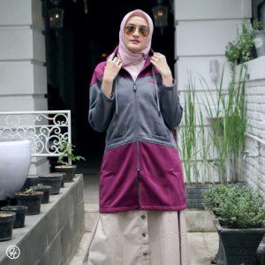 Jaket Hijab Hyura HJ-HYR-PURPLE-XL