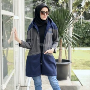 Jaket Hijaber Hyura HJ-HYR-ROYAL-BLUE-XL