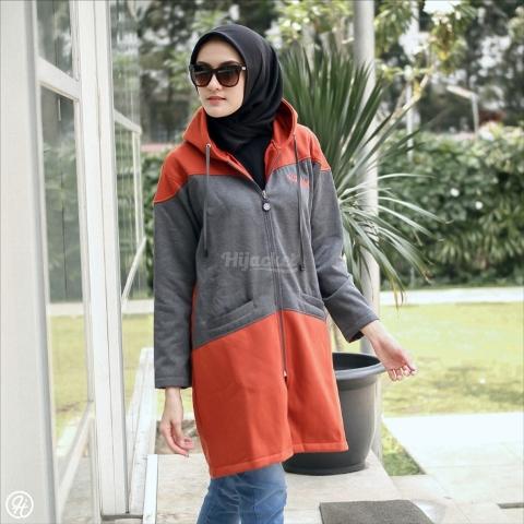 Jaket Untuk Hijaber Hyura HJ-HYR-TERACOTTA-XL