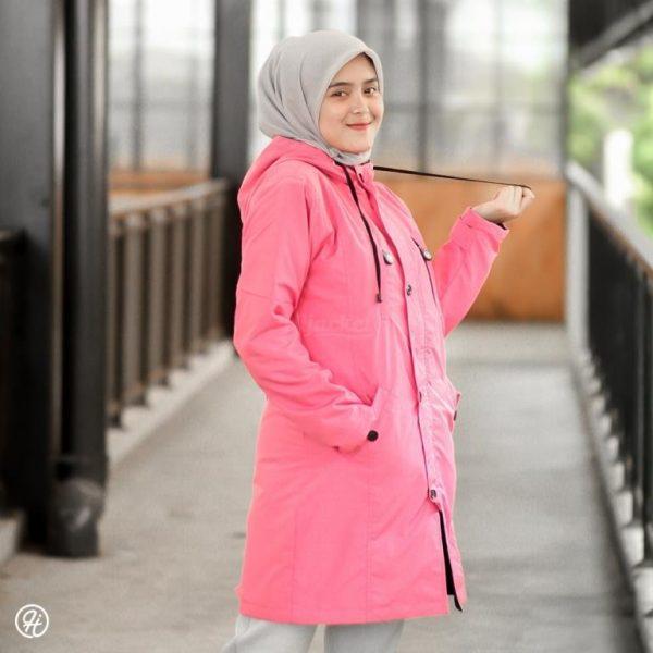 Jaket Untuk Hijaber Ixora HJ-IXR-CANDY-PINK-XXL