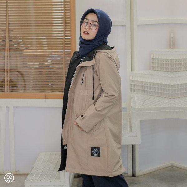 Jaket Hijab Ixora HJ-IXR-CREAM-XXL