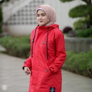 Jaket Hijabers Ixora HJ-IXR-CRIMSON-XL