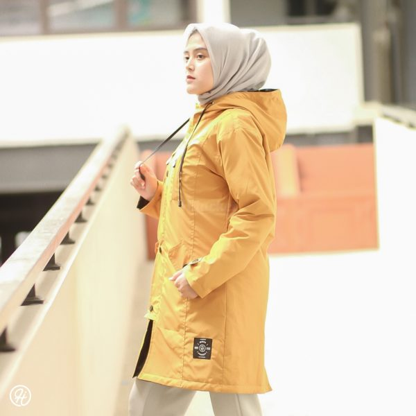 Hijab Jaket Ixora HJ-IXR-GOLDENROD-XXL