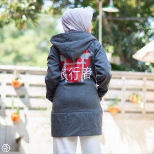 Jaket Hijab Japan-Street HJ-JS1-XL