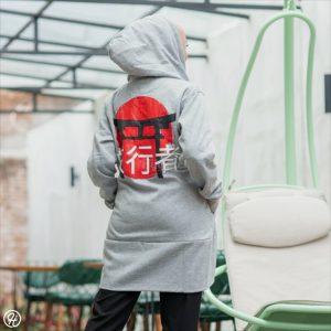 Jaket Untuk Hijaber Japan-Street HJ-JS2