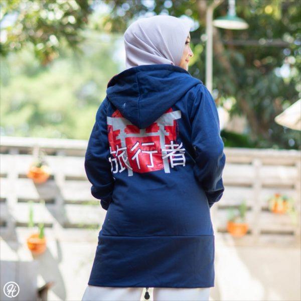 Jaket Untuk Hijaber Japan-Street HJ-JS3-XL