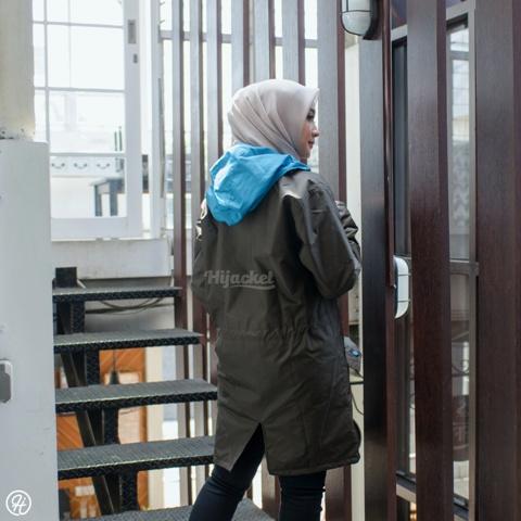 Jaket Untuk Hijaber Montix HJ-MT-BROWN-XXL