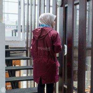 Jaket Untuk Hijaber Montix HJ-MT-MAROON