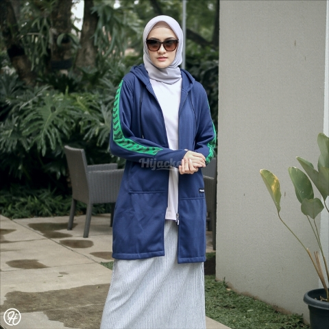 Jaket Hijab Naura HJ-NR-NAVY