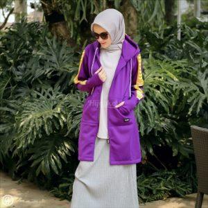 Jaket Untuk Hijaber Naura HJ-NR-PURPLE