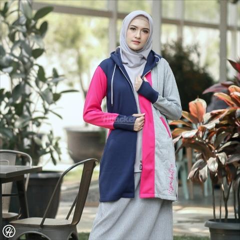 Hijab Jaket Oksana HJ-OK-PINK