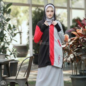 Jaket Untuk Hijaber Oksana HJ-OK-RED