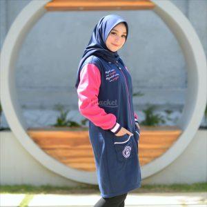 Jaket Hijabers Qadira HJ-QD-ROYAL-PINK-XL