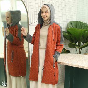 Jaket Hijab Queenbee HJ-QNB-TERACOTTA