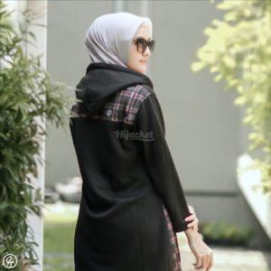 Jaket Hijabers Shaqila HJ-SHQ-BLACK-XL