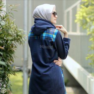 Hijab Jaket Shaqila HJ-SHQ-NAVY-XL