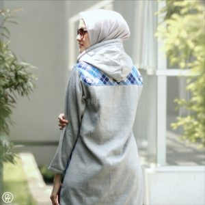 Hijacket Shaqila HJ-SHQ-SKYGREY-XL