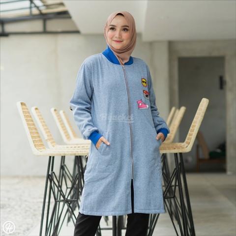 Jaket Hijab twistone HJ-TW-AZURE-XL