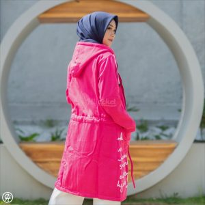 Jaket Hijab Urbanisashion HJ-UB-ROSEPINK-XL