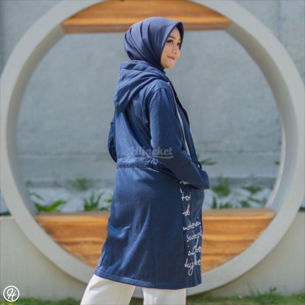 Jaket Hijabers Urbanisashion HJ-UB-ROYAL-BLUE-XXL