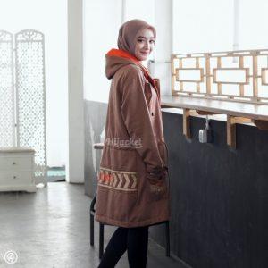 Hijab Jaket Vendulum HJ-VD-CINNAMON-BROWN