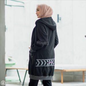 Jaket Hijab Yukata HJ-YK-BLACK-XL