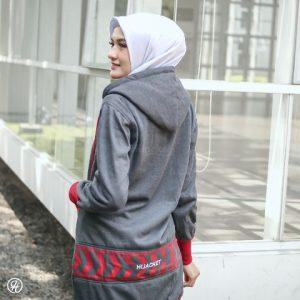 Jaket Hijab Yukata HJ-YK-DARK-GREY-XXL