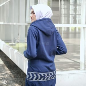 Jaket Untuk Hijaber Yukata HJ-YK-ROYAL-BLUE-XXL